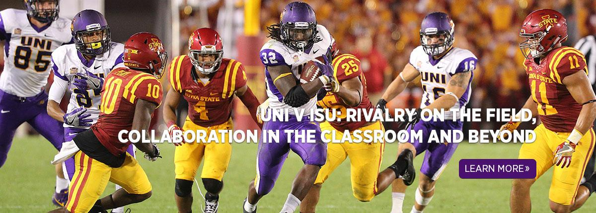UNI v ISU: Rivalry on the Field, Collaboration in the Classroom and Beyond